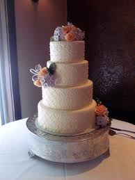 Cake Decorating Classes Utah Hydrangea And Roses Quilted Wedding Cake A Piece Of Cake Utah