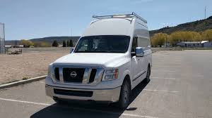 nissan nv 2500 high top homemade camper youtube
