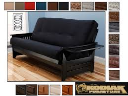 phoenix full size futon package w pre upholstered spring mattress