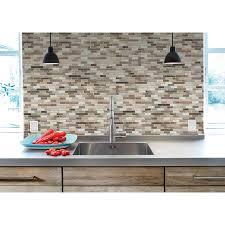 Smart Tiles Kitchen Backsplash Peel And Stick Tile Backsplash Muretto Durango Smart Tiles