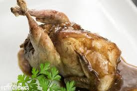 comment cuisiner des cailles recette de cailles farcies au foie gras et cèpes