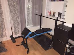 used men u0027s health olympic folding workout bench in br6 orpington