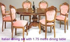 Italian Style Dining Room Furniture by Dining Table Italian Glass Dining Table And Chairs Italian Style