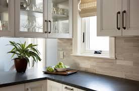 Backsplash With Venetian Gold Granite - dazzling travertine backsplash in kitchen traditional with