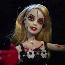 Scary Doll Halloween Costume 77 Zombie Barbies Scary Dolls Images Scary