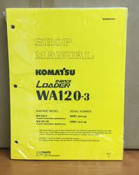 komatsu wa120 3 w120 3a avance wheel loader shop service repair
