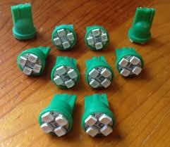 lexus sc400 dash warning lights aliexpress com buy wljh green t10 w5w smd led indicator