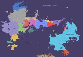 Blank Fantasy Map Generator by The Political Map Of My World Done In Ms Paint Ask Me Some