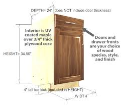 standard height of kitchen base cabinets kitchen standard base cabinets