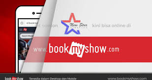 cineplex online cara beli tiket online new star cineplex di bookmyshow indonesia