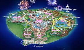 Walt Disney World Resorts Map by Shanghai Disneyland Park Disney Resort China