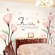 flower wall stickers for bedrooms home design awesome flower wall stickers for bedrooms nice look