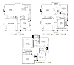 monticello second floor plan the bridgewater kirbor homes