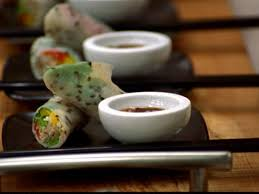 rice paper wrap rice paper wraps with vegetables recipe food network