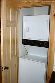 diy rv project convert an rv bunkhouse room into a laundry room