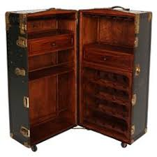 Trunk Bar Cabinet Vintage Steamer Trunk Bar Cabinet Steamer Trunk Steamers And Bar