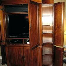 solid wood entertainment cabinet solid oak entertainment center huge solid oak entertainment center