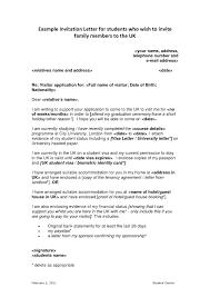 business visa invitation letter uk cover letter for visa