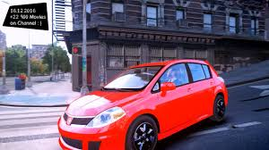 nissan tiida 2008 modified nissan versa sl v2 gta iv mod enb 2 7k 1440p youtube