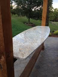 Outdoor Bars Floating Granite Top U0026 Cedar Pergola Outdoor Bars U0026 Grills