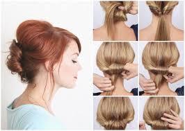 Frisuren Zum Selber Machen Mit Anleitung Und Bild Mittellange Haare by Einfache Frisuren Kurze Haare Mit Frisuren Selber Machen Kurze
