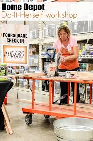 the home depot do it herself workshop tonya staab