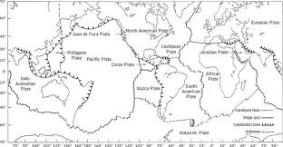 plate tectonics coloring pages laura williams
