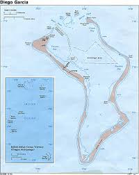 Map Showing Equator British Indian Ocean Territory Map And Information Page