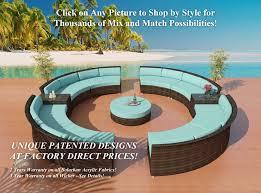 wicker patio furniture los angeles las vegas and san diego custom