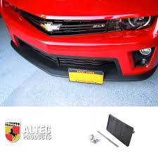 amazon com camaro front retractable manual license plate altec