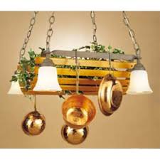 kitchen island pot rack lighting pot racks hanging lighted chandelier stainless steel