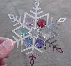 suncatcher prism ornament with swarovski prisms lightpegs