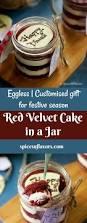 eggless red velvet cake in a jar recipe festival recipe cake
