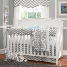 Nursery Bedding Sets Canada by Pink And Gray Chevron Mini Crib Bedding Carousel Designs Portable