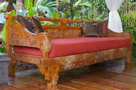 bali style daybed outdoor furniture outdoor living