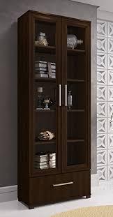 amazon com manhattan comfort serra 1 0 bookcase collection modern