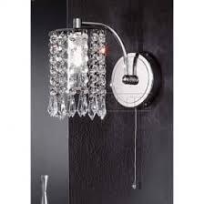 bathroom crystal wall lights