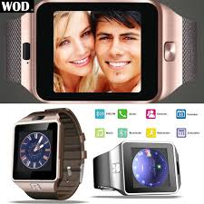 dz09 bluetooth smart watch phone sim camera for android iphone