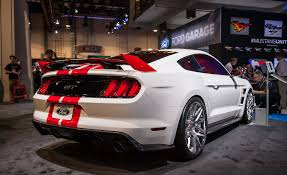 Mustang Boss 302 Black And Red The Ford Mustangs Of Sema U2014new Old And Everything In Between