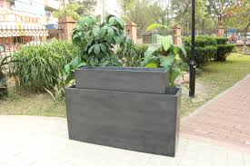 Pots For Plants by Decor Fabulous Tall Planters For Cool Garden Decoration Ideas