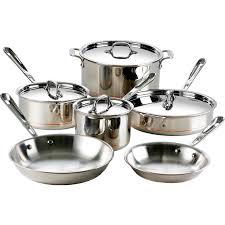 all clad copper core 10 pc cookware set cook shop the exchange