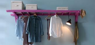 diy garderobe diy leiter als garderobe geschnackvoll