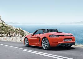Porsche Boxster Convertible - the top 5 things you need to know about the porsche 718 boxster