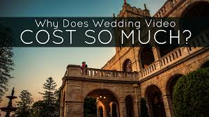 wedding videography prices why does wedding cost so much tailored fit
