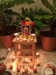 Ugadi Decorations At Home Kalpavriksha Kamadhenu You Will Find Details About Hindu