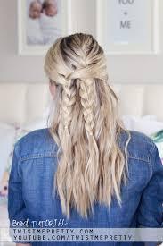 bohemian braid tutorial easy back hairstyle