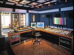 Home Studio Desk by Custom Recording Studio Furniture Scs