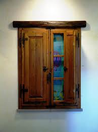 Folding Window Shutters Interior Custom Wood Windows