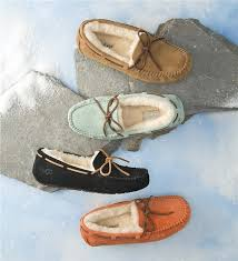 ugg slipper sale dakota ugg australia dakota moccasin ugg slipper plow hearth