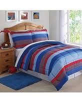 Blue Striped Comforter Set Holiday Deals U0026 Sales On Striped Comforter Sets